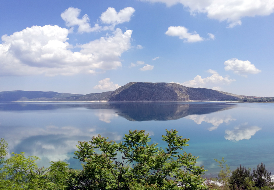 озеро сальда