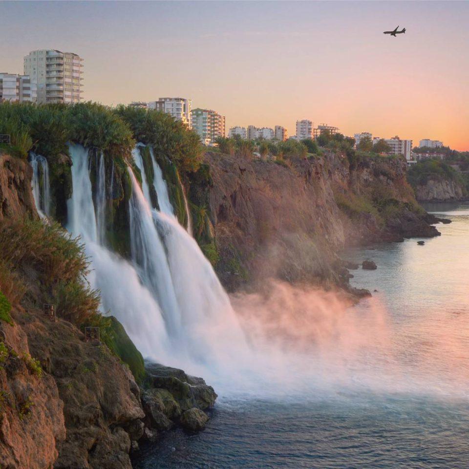 Водопад дюден фото